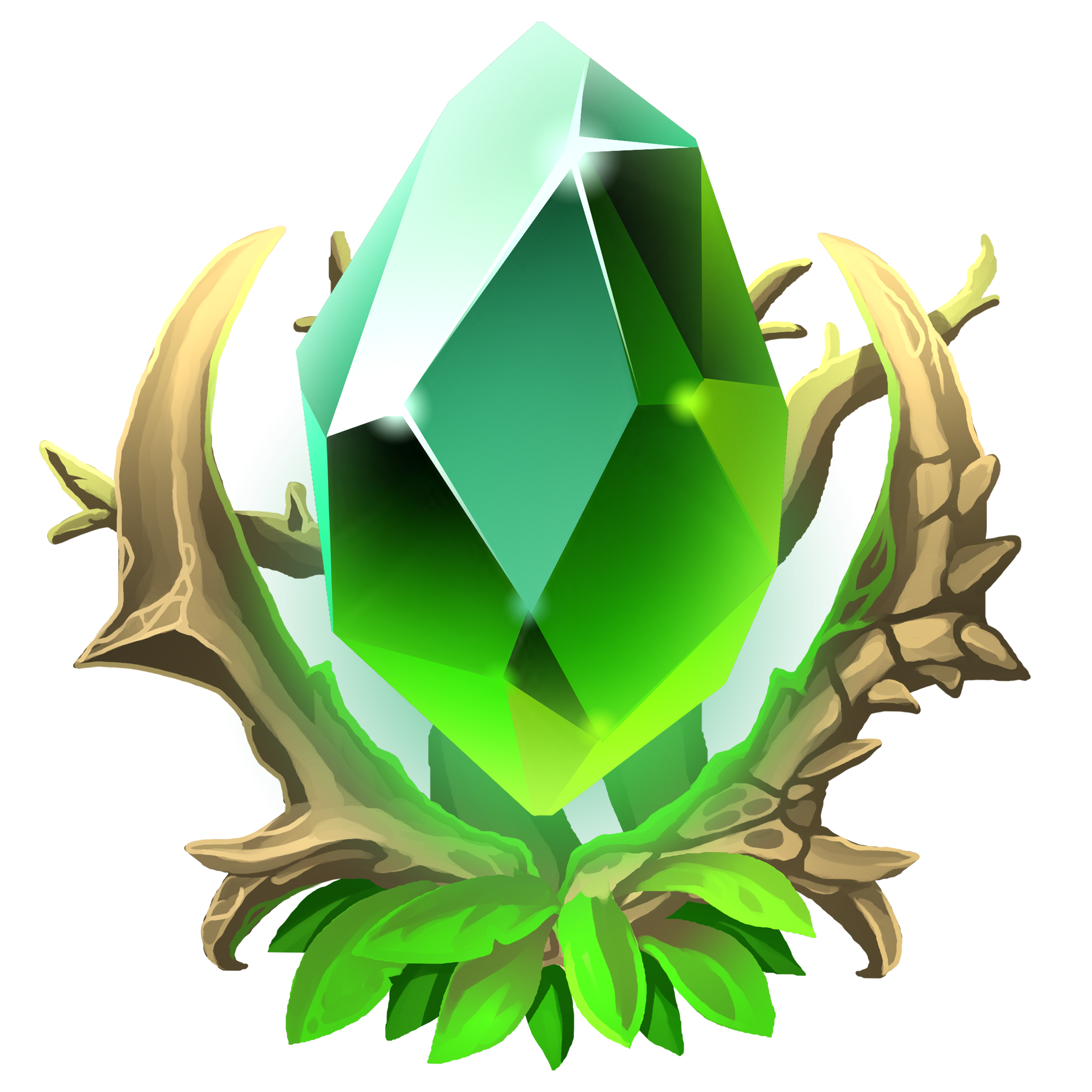 A beautiful emerald